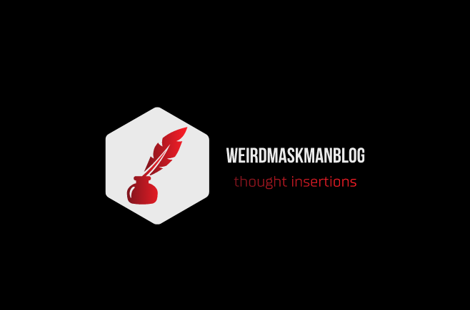 weirdmaskmanblog